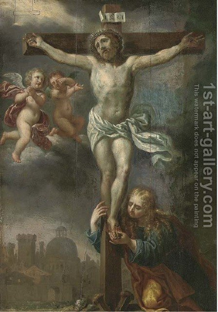 The Crucifixion by (after) Gaspar De Crayer - Reproduction Oil Painting