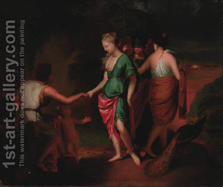The Judgement of Paris by (after) Gerard De Lairesse - Reproduction Oil Painting