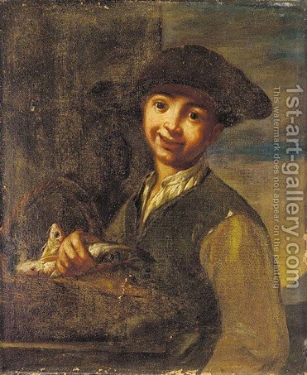 A youth by (after) Giacomo Ceruti (Il Pitocchetto) - Reproduction Oil Painting