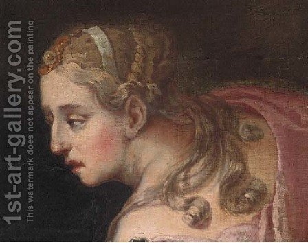 Diana by (after) Giovanni Antonio Pellegrini - Reproduction Oil Painting