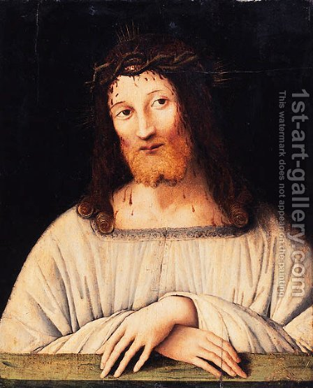 Ecce Homo by (after) Giovanni Martino Spanzotti - Reproduction Oil Painting