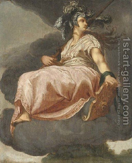 Minerva by (after) Hendrick Goltzius - Reproduction Oil Painting
