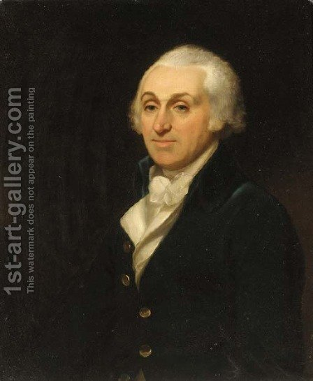 Portrait of Thomas Harley (1730-1804) by (after) Henri-Pierre Danloux - Reproduction Oil Painting