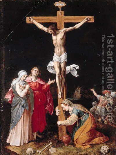 The Crucifixion by (after) Jacob De Backer - Reproduction Oil Painting