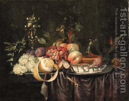 Still life by (after) Jan Davidsz. De Heem - Reproduction Oil Painting