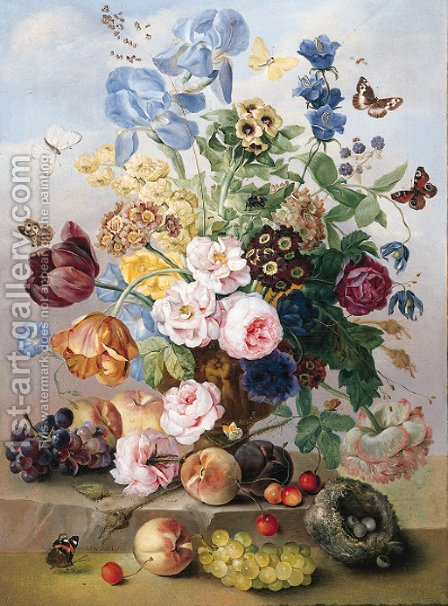 Flowers by (after) Jan Frans Van Dael - Reproduction Oil Painting