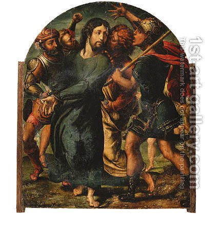 The Betrayal of Christ by (after) Jan (Mabuse) Gossaert - Reproduction Oil Painting