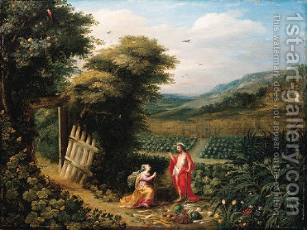 Noli Me Tangere by (after) Jan Van Balen - Reproduction Oil Painting