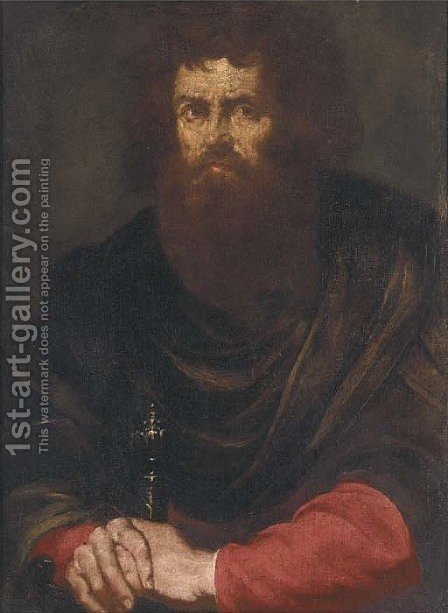 Saint Paul by (after) Jusepe De Ribera, Lo Spagnoletto - Reproduction Oil Painting