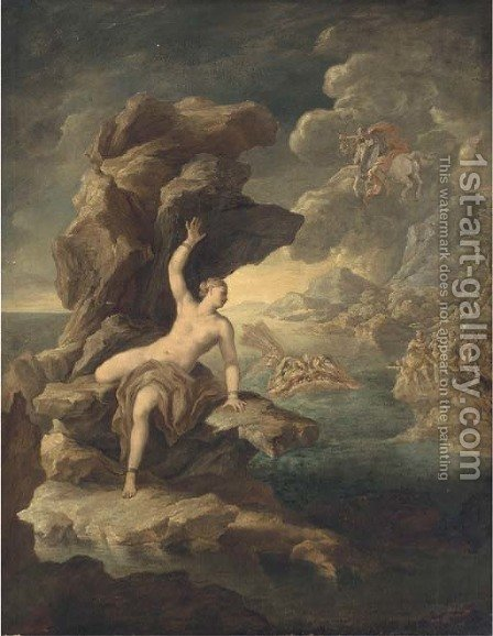 Perseus and Andromeda by (after) Paolo Di Matteis - Reproduction Oil Painting