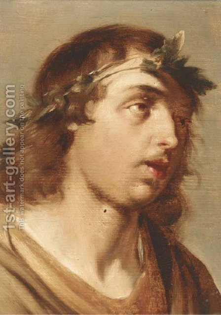 Bacchus by (after) Salomon De Bray - Reproduction Oil Painting