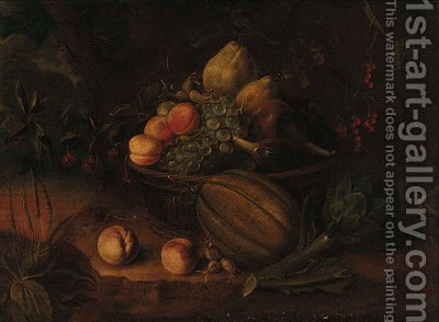 Fruits by (after) Tommaso Salini (Mao) - Reproduction Oil Painting