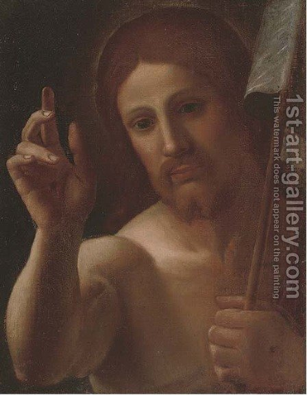 Christ by (after) Alessandro Tiarini - Reproduction Oil Painting