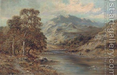 Betts-y-coed, North Wales by (after) Benjamin Williams Leader - Reproduction Oil Painting