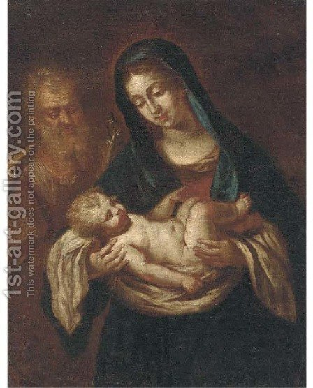 The Holy Family by (after) Carlo Maratta Or Maratti - Reproduction Oil Painting