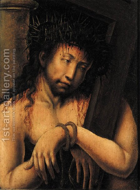 Christ on the Road to Calvary by (after) Dieric The Elder Bouts - Reproduction Oil Painting