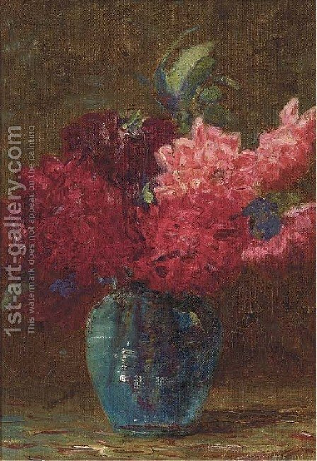 Flowers by (after) Edwin Armfield - Reproduction Oil Painting