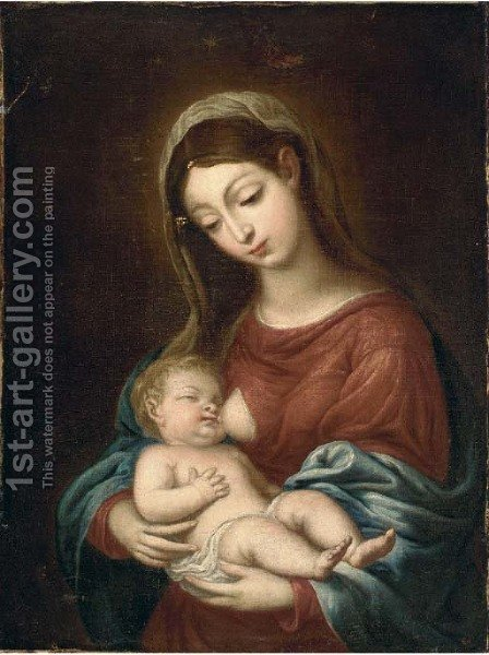 The Madonna and Child by (after) Francesco Trevisani - Reproduction Oil Painting