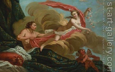 Aurora and Tithonus by (after) Francois Boucher - Reproduction Oil Painting