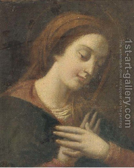 The Mater Dolorosa by (after) Giovanni Battista Salvi, Il Sassoferato - Reproduction Oil Painting
