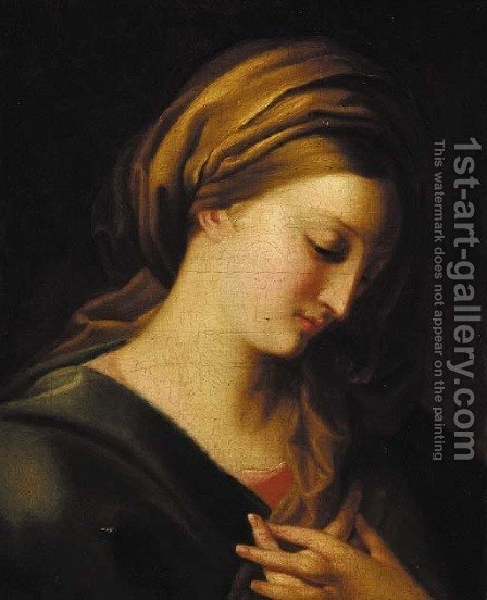 The Madonna by (after) Giovanni-Battista Salvi, Called Sassoferrato - Reproduction Oil Painting