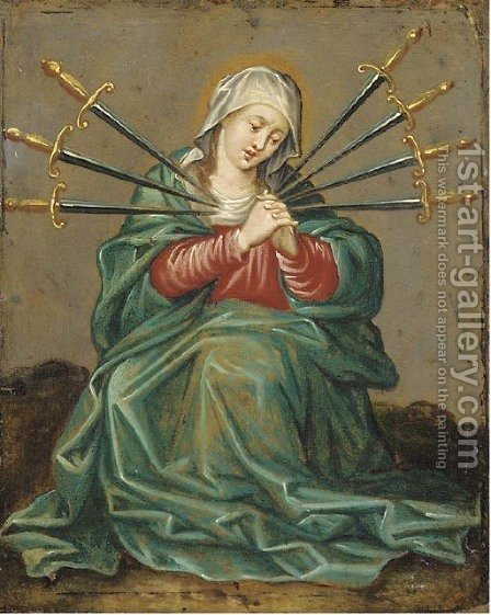 The Seven Sorrows of the Virgin by (after) Hendrik Van Balen, I - Reproduction Oil Painting