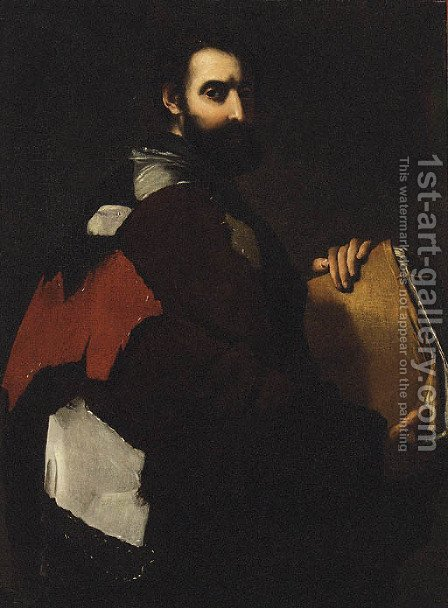A Philosopher by (after) Jusepe De Ribera - Reproduction Oil Painting