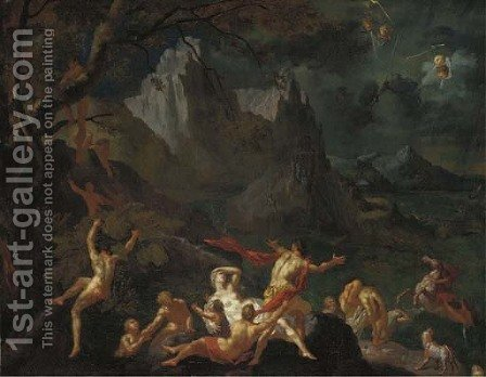 The Flood by (after) Nicolas Poussin - Reproduction Oil Painting