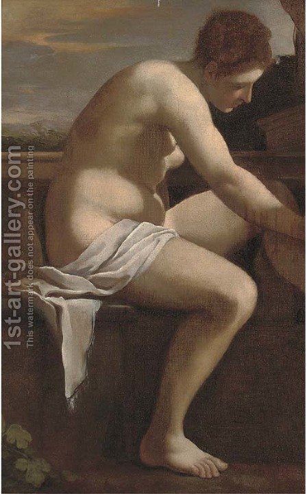Bathsheba by (after) Orazio Gentileschi - Reproduction Oil Painting