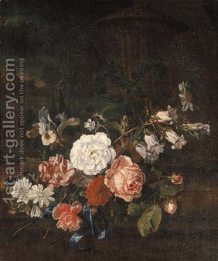 Flowers by (after) Rachel Ruysch - Reproduction Oil Painting