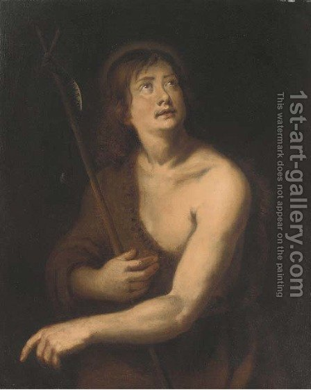 Saint John the Baptist 2 by (after) Dyck, Sir Anthony van - Reproduction Oil Painting