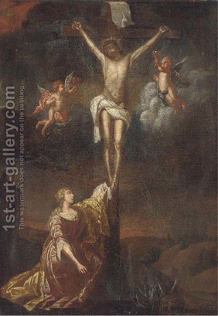 The Crucifixion 3 by (after) Dyck, Sir Anthony van - Reproduction Oil Painting