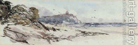 Coastal scene by (after) William Callow - Reproduction Oil Painting