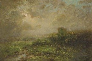 Reproduction oil paintings - George Inness Jnr. - Sol's Glory