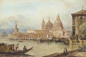 George Richardson reproductions - The Dogana, Venice
