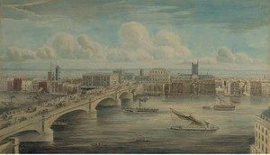 Reproduction oil paintings - Gideon Yates - London Bridge from Fishmongers' Hall