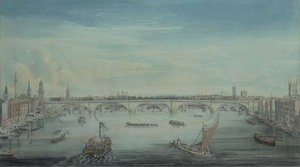 Reproduction oil paintings - Gideon Yates - Southwark Bridge from the Thames