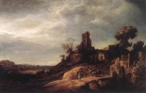 Govert Teunisz. Flinck reproductions - Landscape 1637