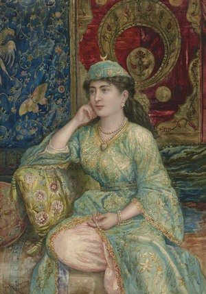 Giulio Ewing reproductions - A Turkish Beauty