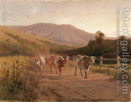 Heading Home by Gordon Coutts - Reproduction Oil Painting