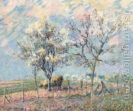 Printemps by Gustave Loiseau - Reproduction Oil Painting