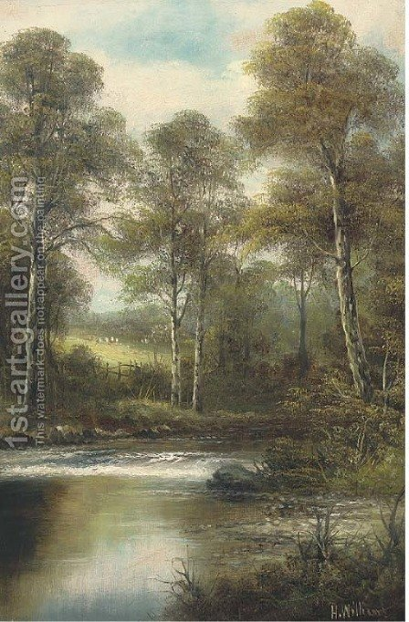 A peaceful sanctuary by Hugh William Williams - Reproduction Oil Painting