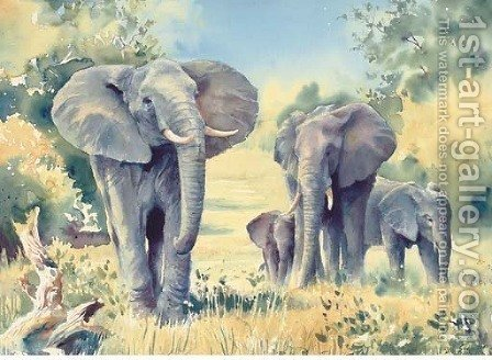 Matriarchs by Hazel Soan - Reproduction Oil Painting