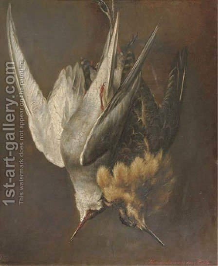 The catch by Hendrika Wilhelmina Van Der Kellen - Reproduction Oil Painting