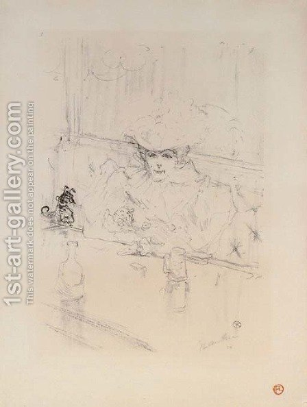Au Hanneton by Toulouse-Lautrec - Reproduction Oil Painting