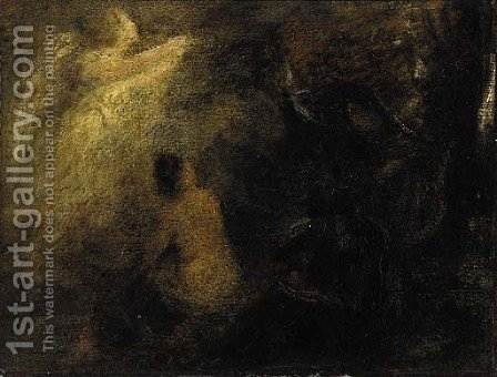 Apparition by Ignace Henri Jean Fantin-Latour - Reproduction Oil Painting