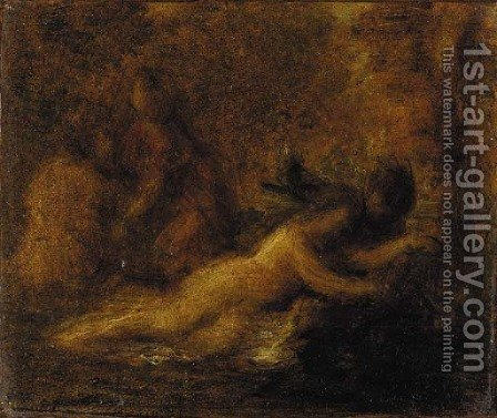 Tannhauser et Venus (Bacchanale) by Ignace Henri Jean Fantin-Latour - Reproduction Oil Painting