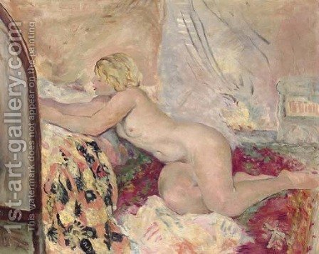 Nu allonge 2 by Henri Lebasque - Reproduction Oil Painting