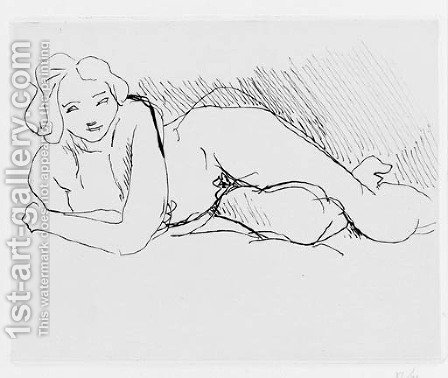 Nu couche by Henri Matisse - Reproduction Oil Painting