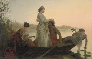Reproduction oil paintings - Henri Pierre Picou - An idyll of marriage